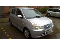 Kia Picanto Se, 1.1 litre, 2004, Mot March 2018, 2 owners, £30 a year tax