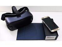 Samsung S7 Edge Gold & Gear VR2 BNIB UNLOCKED