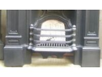 WANTED. FRONT GRATE BARS FOR A VICTORIAN, CAST IRON, COMBINATION FIREPLACE.