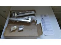 Microwave wall bracket, brand new in box unopened.