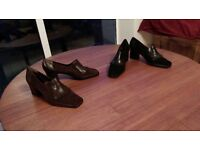 Shoes shoes shoes! Ladies Italian design nearly new size 40, Heels, sandals and flats