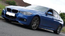 2013 BMW 320D M SPORT F30 4DR AUTO - HeadUp Display - Estoril Blue 3 Series