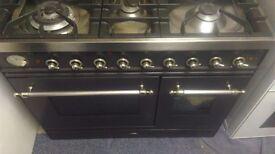 Britannia range cooker.