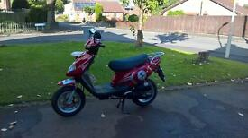 tgb scooter moped 50cc