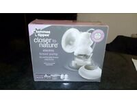 Tommee Tippee Closer to nature electric breast pump BRAND NEW