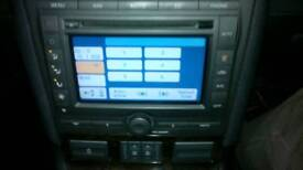 Ford sat nav stereo system