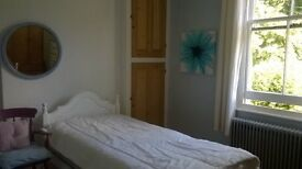 Large Bright Twin Bedded Room Opposite Park, Tennis Courts and Running Track in Charminster NO FEES