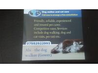 Dog walking, cat sitting and pet care