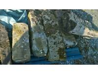 Sand stone lintels and corner stone for sale