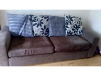 Large Sofa and Oversized Armchair for Sale.