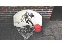 Basketball Hoop, Backboard & Basketball