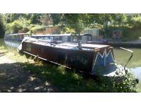 Narrow boat 35ft ready to live on