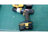 RYOBI Battrey Drill