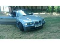 BMW 328I AUTOMATIC 2000/W-REG CONVERTIBLE SOFT TOP