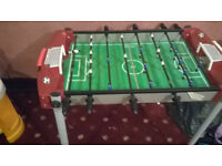 TABLE TOP MINI FOOTBALL/FOOSBALL TABLE (Great condition)