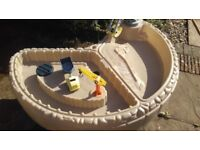 Little Tikes Builder´S Bay Sand & Water Table