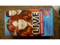 New hair colouring dye