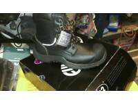 Work safety boots size 9 New