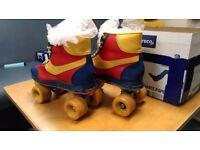 Retro Roller Skates Size 10