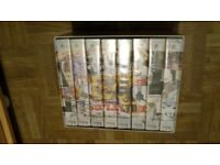 THE BEATLES ANTHOLOGY VHS BOXSET (8 TAPES 1996)