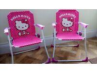Hello Kitty Children's Garden Chairs