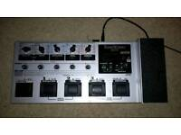 Korg multi effects unit for guitar