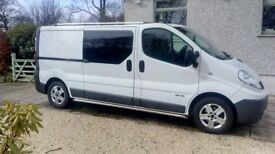 Renault Trafic 2.0 dCi LL29 Phase 3 Crew Van, LWB, 4dr (6 Seats), Full Service History, Private Sale