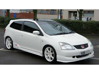 2002 Honda Civic EP3 Type R - HPI CLEAR - Championship White