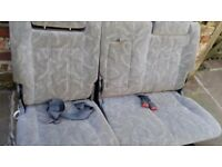 ISUZU TROOPER SEATS