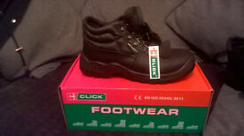 Click Footwear Chukka Safety Boots various sizes