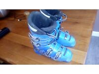 Lange junior race ski boots 19.5 cm size 12.5