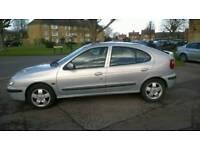 Cheap 2002 Renault Megane 1.6 Petrol £395