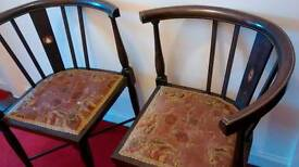 Antique corner chairs