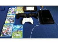 Nintendo Wii U console + 3 controllers + 8 games incl. Zelda, Mario Kart and Super Smash Bros