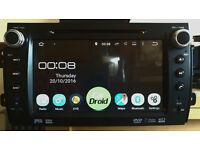 "Fiat Sedici/Suzuki SX4 8"" Android Touchscreen Car Stereo/Radio/GPS/Sat Nav/Bluetooth/DVD/SD Card"