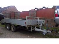 TWIN AXLE TRAILER, 11FT X 6FT