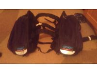 Oxford X60 Lifetime Panniers Black - Used Once