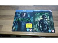 Arrow - complete series 1 & 2 for Blu ray