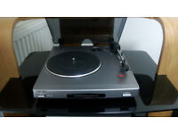 Sony Turntable PS - J20 with leads and new stylus