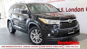 2015 Toyota Highlander 8 PASSENGER XLE LEATHER & NAVIGATION