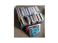 Box Of 50 Book Paperback & Hardback Novels, Cooking, Art, Travel, Lifestyles, Poetry, biography