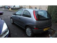 Vauxhall Corsa low miles