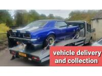 Vehicle recovery , transport, delivery , collection