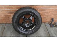 Original spare wheel of Mercedes S classe 225/60/16.