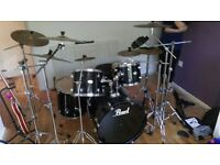 PEARL DRUM KIT FOR SALE £500 ONO