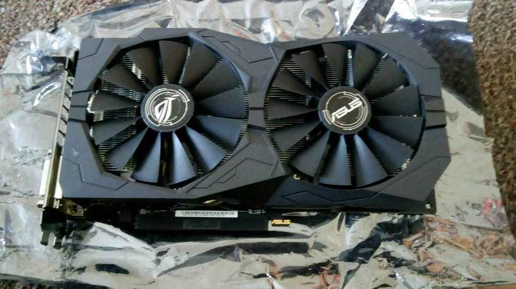 Sold!! - Asus Strix AMD RX 470 4gb Radeon Graphics Video Card GPU   in  Livingston, West Lothian   Gumtree