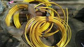 Job a lot Yellow gas pipe coil