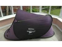 4 x 2man tents, 3 x sleeping bags, 2 roll mats, 2 camping stools