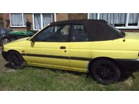 Ford convertible escort for sale
