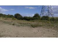 Brownfield site several acres hard standing